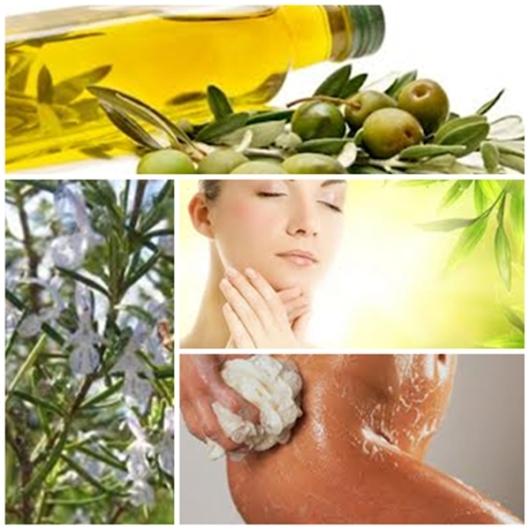 Resultado de imagen para El aceite de oliva para la piel sana.