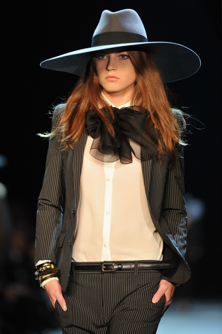 Saint Laurent: Runway - Paris Fashion Week Womenswear Spring / Summer 2013