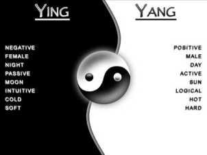 Ying-Yang en los alimentos