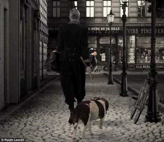 Dog Walk Ralpah Lauren Campaign 3
