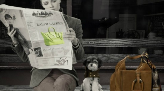 Dog Walk Ralph Lauren Campaing 2