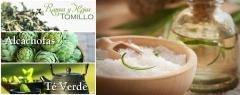 Detox Riñón-Pulmones-Hígado- Baño Sal de mar- Infusiones-Té- Tomillo-Alcachofa-Té verde-Bliss & Glamour